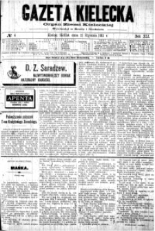 Gazeta Kielecka, 1911, R.42, nr 88