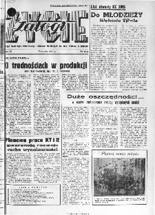 Życie Załogi : organ Samorządu Robotniczego Zakładów Metalowych im. Gen. Waltera w Radomiu, 1961, nr 6