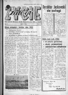 Życie Załogi : organ Samorządu Robotniczego Zakładów Metalowych im. Gen. Waltera w Radomiu, 1963, nr 1