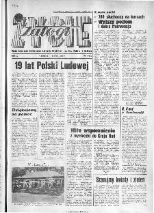 Życie Załogi : organ Samorządu Robotniczego Zakładów Metalowych im. Gen. Waltera w Radomiu, 1963, nr 6