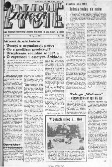 Życie Załogi : organ Samorządu Robotniczego Zakładów Metalowych im. Gen. Waltera w Radomiu, 1966, nr 1
