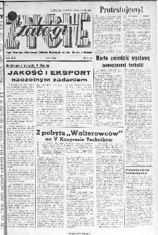 Życie Załogi : organ Samorządu Robotniczego Zakładów Metalowych im. Gen. Waltera w Radomiu, 1966, nr 3