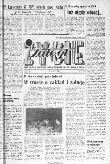 Życie Załogi : organ Samorządu Robotniczego Zakładów Metalowych im. Gen. Waltera w Radomiu, 1966, nr 7