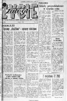 Życie Załogi : organ Samorządu Robotniczego Zakładów Metalowych im. Gen. Waltera w Radomiu, 1966, nr 9