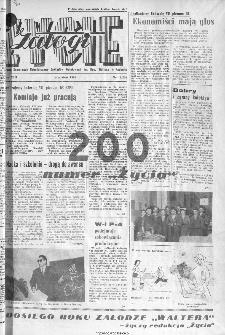 Życie Załogi : organ Samorządu Robotniczego Zakładów Metalowych im. Gen. Waltera w Radomiu, 1966, nr 13