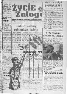 Życie Załogi : organ Samorządu Robotniczego Zakładów Metalowych im. Gen. Waltera w Radomiu, 1967, nr 4