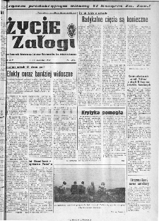Życie Załogi : organ Samorządu Robotniczego Zakładów Metalowych im. Gen. Waltera w Radomiu, 1967, nr 6