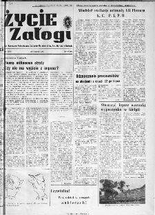 Życie Załogi : organ Samorządu Robotniczego Zakładów Metalowych im. Gen. Waltera w Radomiu, 1967, nr 9
