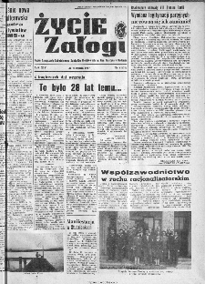 Życie Załogi : organ Samorządu Robotniczego Zakładów Metalowych im. Gen. Waltera w Radomiu, 1967, nr 11