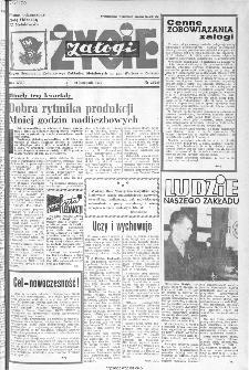 Życie Załogi : organ Samorządu Robotniczego Zakładów Metalowych im. Gen. Waltera w Radomiu, 1970, nr 22