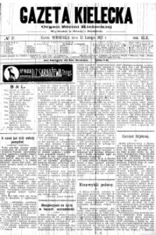Gazeta Kielecka, 1912, R.43, nr 1
