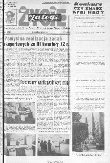 Życie Załogi : organ Samorządu Robotniczego Zakładów Metalowych im. Gen. Waltera w Radomiu, 1972, nr 20