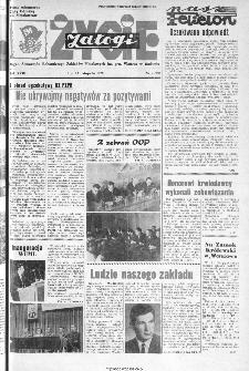 Życie Załogi : organ Samorządu Robotniczego Zakładów Metalowych im. Gen. Waltera w Radomiu, 1972, nr 21