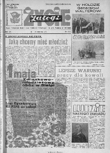 Życie Załogi : organ Samorządu Robotniczego Zakładów Metalowych im. Gen. Waltera w Radomiu, 1973, nr 8