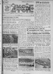 Życie Załogi : organ Samorządu Robotniczego Zakładów Metalowych im. Gen. Waltera w Radomiu, 1973, nr 10