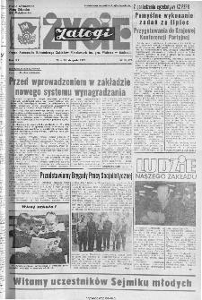 Życie Załogi : organ Samorządu Robotniczego Zakładów Metalowych im. Gen. Waltera w Radomiu, 1973, nr 20