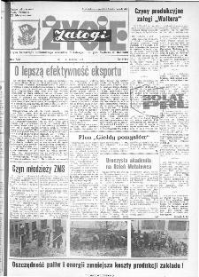 Życie Załogi : organ Samorządu Robotniczego Zakładów Metalowych im. Gen. Waltera w Radomiu, 1974, nr 9
