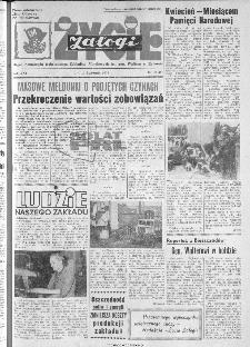 Życie Załogi : organ Samorządu Robotniczego Zakładów Metalowych im. Gen. Waltera w Radomiu, 1974, nr 10