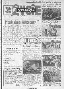 Życie Załogi : organ Samorządu Robotniczego Zakładów Metalowych im. Gen. Waltera w Radomiu, 1974, nr 15
