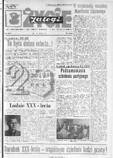 Życie Załogi : organ Samorządu Robotniczego Zakładów Metalowych im. Gen. Waltera w Radomiu, 1974, nr 20