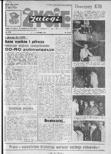 Życie Załogi : organ Samorządu Robotniczego Zakładów Metalowych im. Gen. Waltera w Radomiu, 1974, nr 22