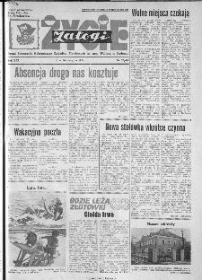 Życie Załogi : organ Samorządu Robotniczego Zakładów Metalowych im. Gen. Waltera w Radomiu, 1974, nr 23