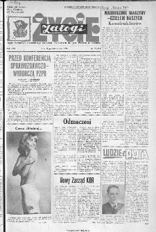 Życie Załogi : organ Samorządu Robotniczego Zakładów Metalowych im. Gen. Waltera w Radomiu, 1974, nr 28