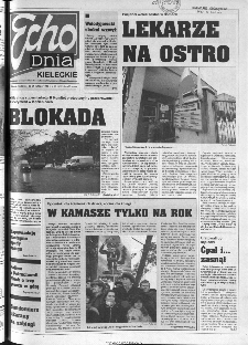 Echo Dnia 1999, R.25, nr 43 (Kieleckie)