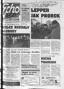 Echo Dnia 1999, R.25, nr 44 (Kieleckie)
