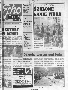 Echo Dnia 1999, R.25, nr 79 (Kieleckie)