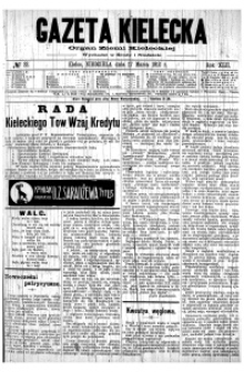 Gazeta Kielecka, 1912, R.43, nr 27