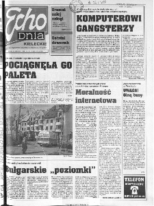 Echo Dnia 1999, R.25, nr 191 (Kieleckie)