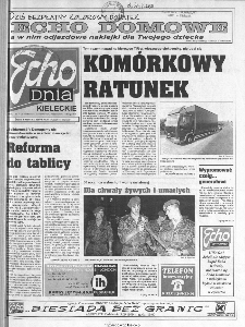 Echo Dnia 1999, R.25, nr 203 (Kieleckie)