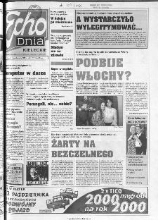Echo Dnia 1999, R.25, nr 244 (Kieleckie)