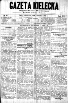 Gazeta Kielecka, 1912, R.43, nr 34