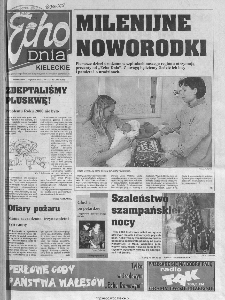 Echo Dnia 2000, R.25, nr 1 (Kieleckie)