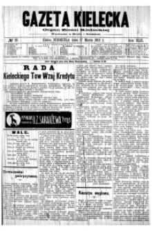Gazeta Kielecka, 1912, R.43, nr 37