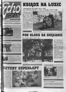 Echo Dnia 2000, R.25, nr 110 (Kieleckie)