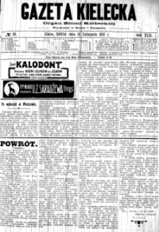 Gazeta Kielecka, 1912, R.43, nr 60