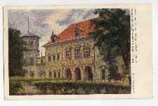 Kielce. Gmach województwa od strony parku dawny Pałac Biskupów Krakowskich