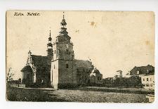 Kielce. Katedra.