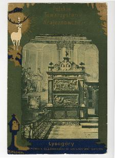 Łysogóry : pomnik Oleśnickich w kaplicy Św. Krzyża