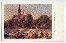 Radom: targ na wale i kościół farny