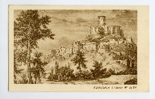Zwaliska zamku w Iłży