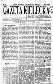 Gazeta Kielecka, 1870, R.1, nr 22
