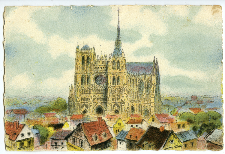 [Paryż. Katedra Nôtre-Dame]