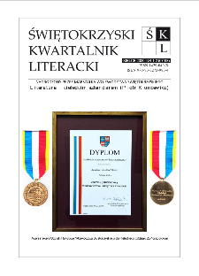 Świętokrzyski Kwartalnik Literacki, 2020, nr 1-2 (67-68)
