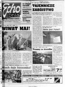 Echo Dnia 1999, R.25, nr 101 (Świętokrzyskie 1)