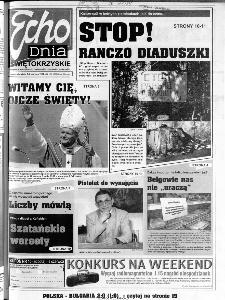 Echo Dnia 1999, R.25, nr 128 (Świętokrzyskie)