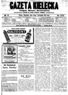 Gazeta Kielecka, 1913, R.44, nr 1